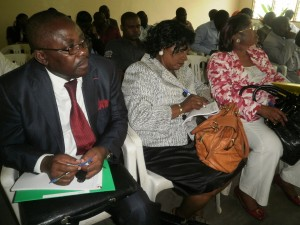 Cross section of Researchers at the workshop