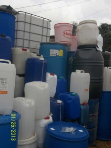 Gallon Business - some of these gallons are of doubtful hygienic conditions