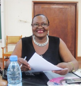 "Prof. Martha Tumnde, Author ""Insurance Law in Cameroon"""