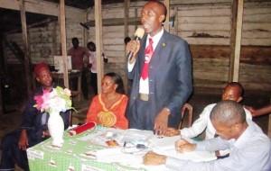 Sakeh, addressing Tiko Youths