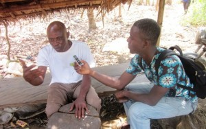 iCameroon's Bless Zoshe in a chat with Assene Ayatong Pendamboko inhabitant