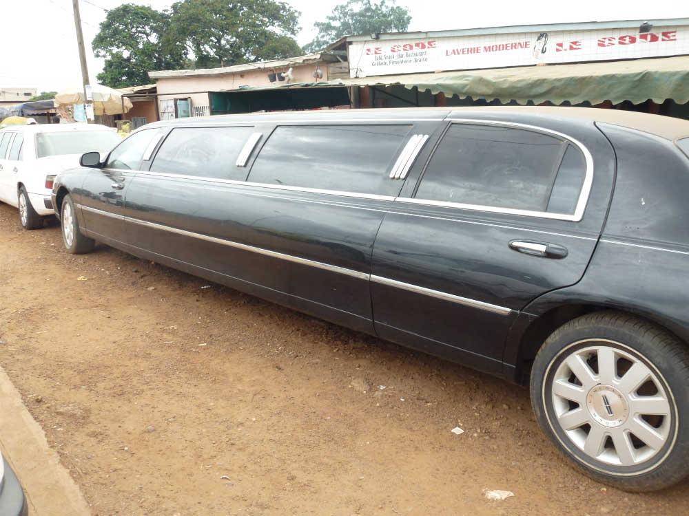 Une limousine à 200.000 la journée