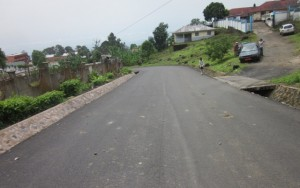 Completed road project