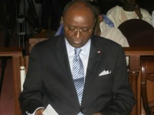 Pierre Moukoko Mbondjo, Ministre des Relations extérieures