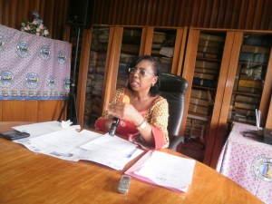 UB VC, Dr Nalova Lyonga talks about the relevance of Cameroon Students Challenge