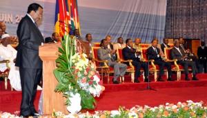 Discours de clôture du sommet de Yaoundé par Paul Biya