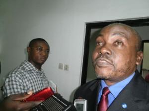 Kange Elinge Director of General Affairs SOWEDA
