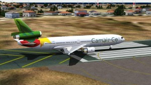 Un avion de Camair-Co
