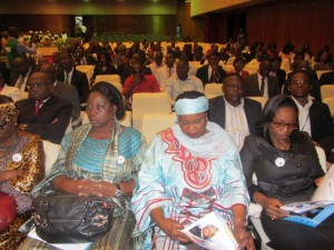 OHADA forum attendees at the Yaoundé Conference Center