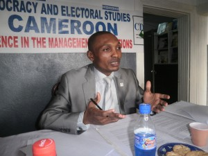 Henry Atem Oben, Executive Director, CDES Cameroon