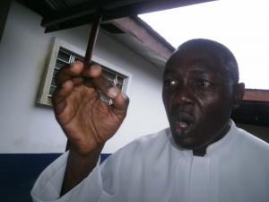 Rev.Fr George Jingwa Nkeze, President, CUIB