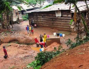 Accès difficile à l'eau potable