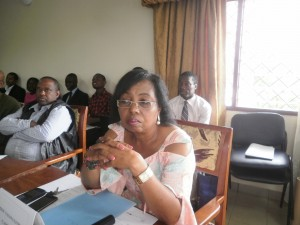 Dr. Nalova Lyonga, UB VC, chair of the STREAM deliberations in Buea, Cameroon