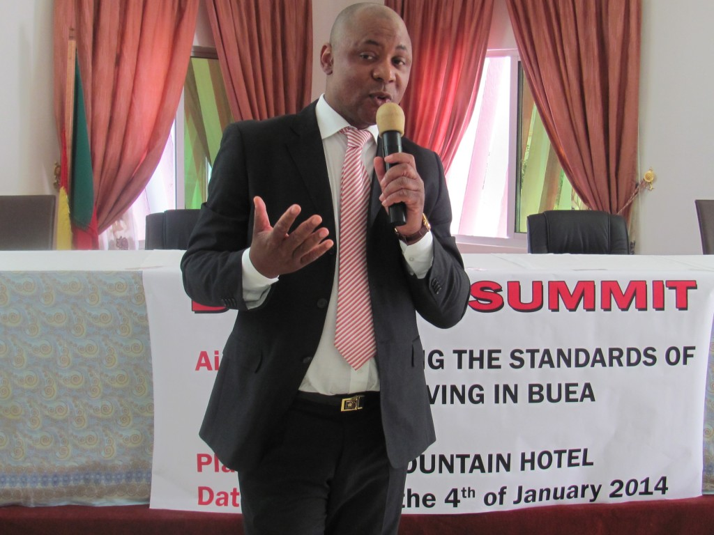 President of Buea - UK Forum, Dr Fred Kemah calls for greater support from Cameroon Diaspora for the country's growth