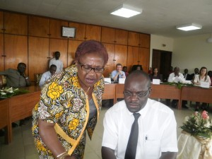 Prof. Joyce Endeley(L) & Prof. Mwewa looking in same direction for the betterment of the STREAM scholarship scheme