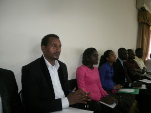Some beneficiary students of the STREAM scholarship scheme from other African countries studying in UB