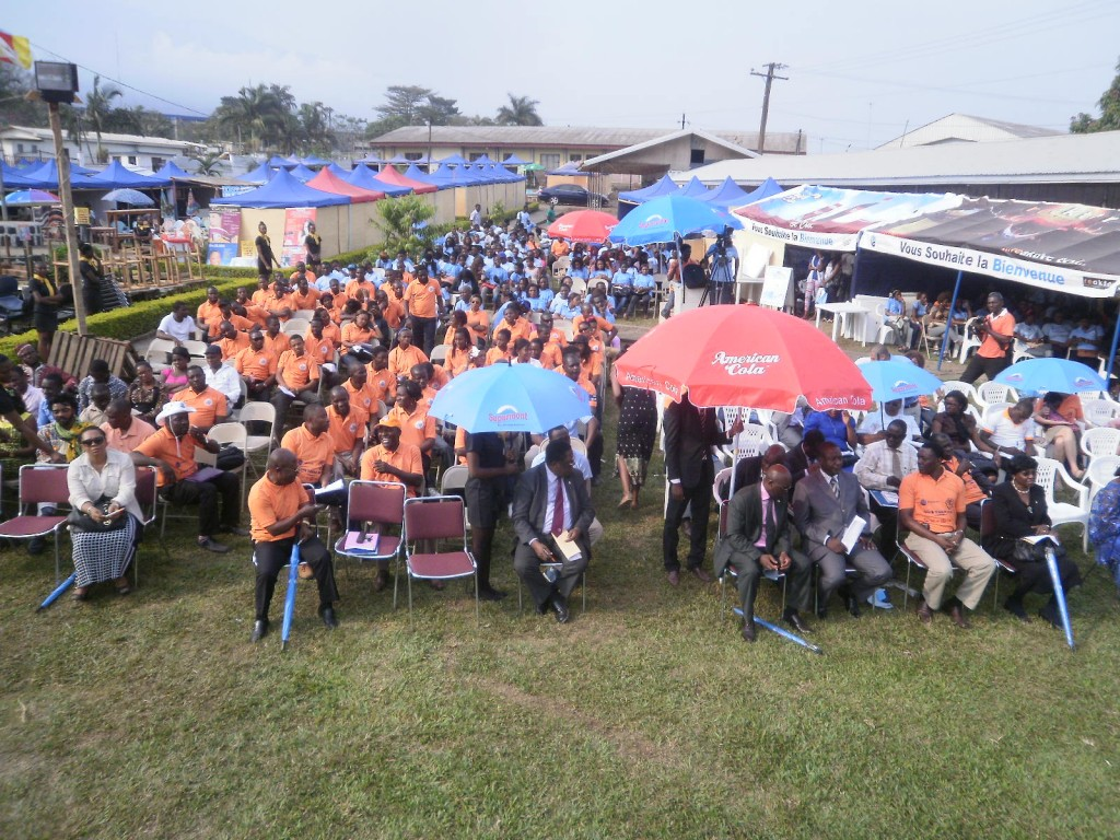 The opening ceremony of the CUIB Entrepreneurial & Academic Fair was a crowdpuller
