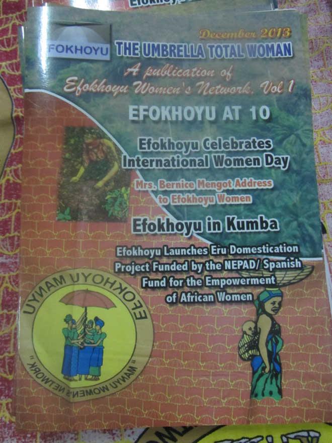 "Efokhoyu ""Umbrella"" Magazine of of Manyu women network of associations in Cameroon and the diasporas"