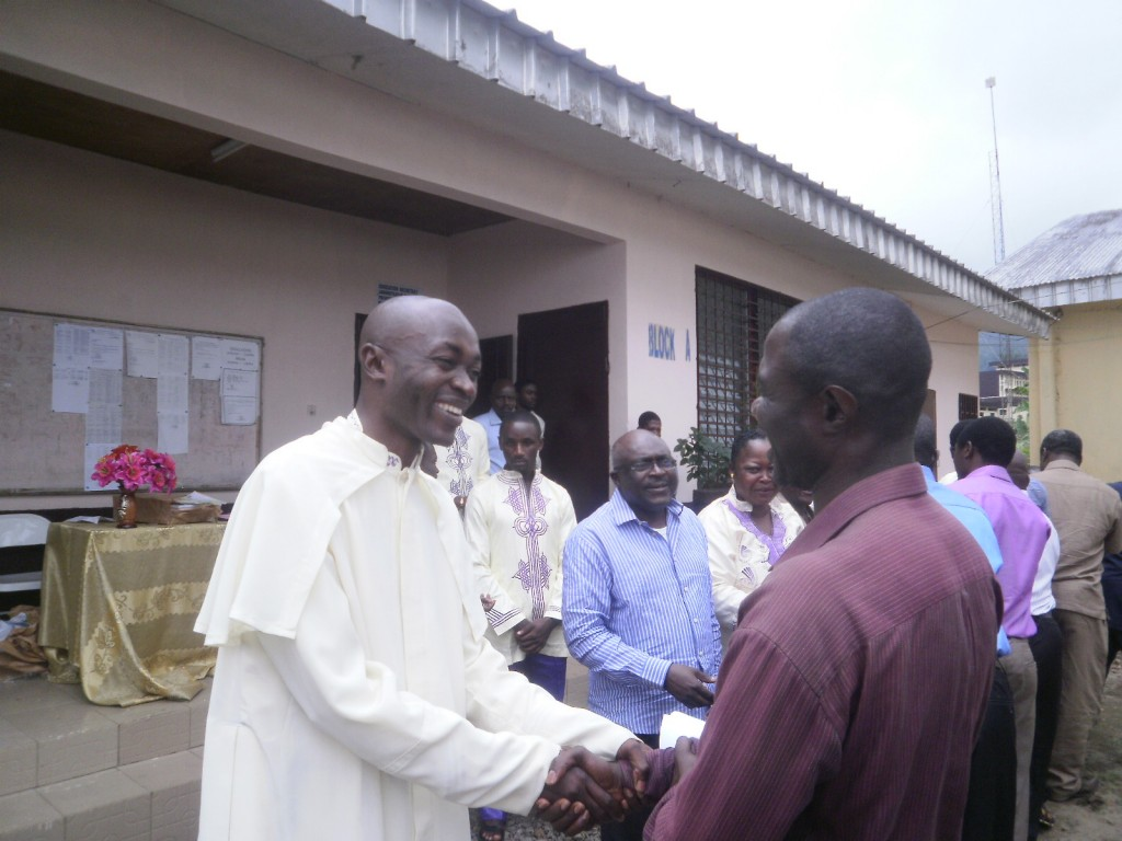 Rev.Fr Alexander Sob(R), Catholic Education Secretary, Buea Diocese - We must put smile on the faces of our teachers