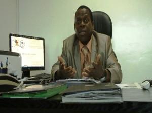 Jean Kisito Mvogo coordonnateur du Secretariat national permanent du processus de Kimberley