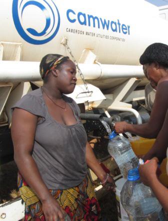 Près de la moitié des camerounais n'a pas accès à l'eau potable.