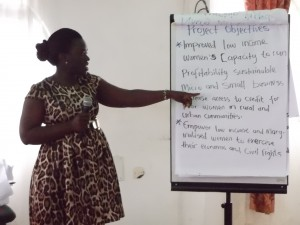 Cynthia Ndi of NADEV explains why women and widows must be empowered