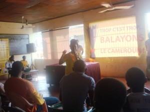 Kah Walla au cours d'une campagne