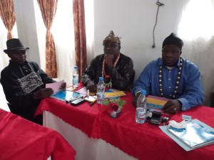 "Traditional rulers attend a workshop on ""Social Construction of Gender"" affecting women"