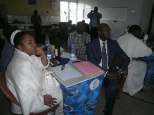Some stakeholders of Catholic University Institute of Buea at a meeting