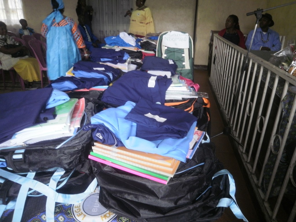 Back to School materials for needy pupils and students in Stranger Quarter, Buea