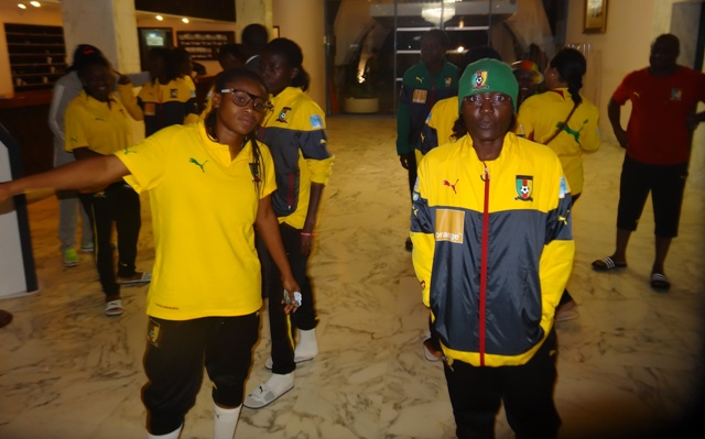 Indomitable Lionesses of Cameroon, taking home FCFA 9.8 Million each after doing battle with the government of Cameroon